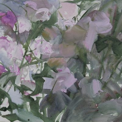 001 Alison Critchlow Gloaming, Dove Cottage Garden 40 X 30cm
