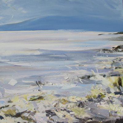 001  'Spring Tide' 80 X 80cm 2019 Alison Critchlow