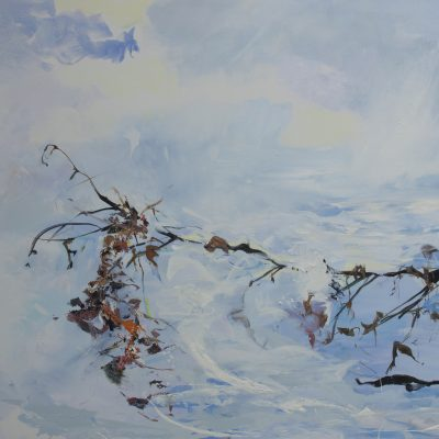 003 'Washing In On The Tide' Oil On Canvas 2019 120 X 100 Cm Alison Critchlow