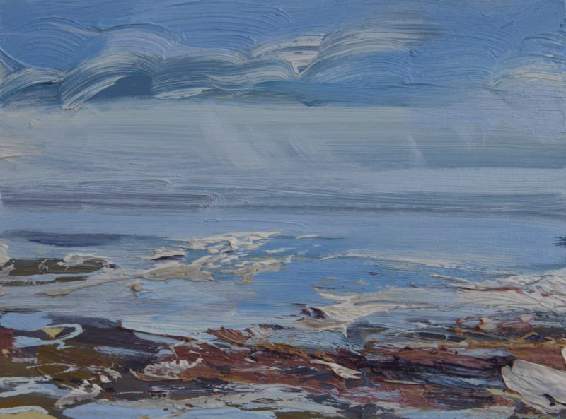 005 'Spring On The Solway' Oil On Board 20 X15 CmAlison Critchlow 2020