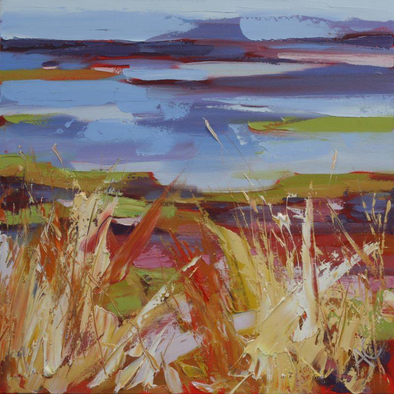 005 'Summer Grass' Oil On Canvas 70 X70 Cm 2007