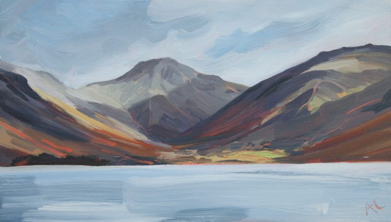 007 Great Gable Oil On Board 2012