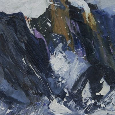 011 'Port Cean Na Creige'. Oil On Canvas Alison Critchlow