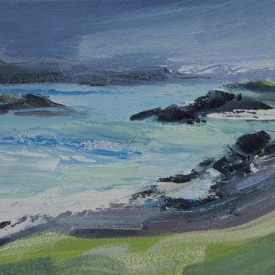 012 'Handa Island' Oil On Canvas