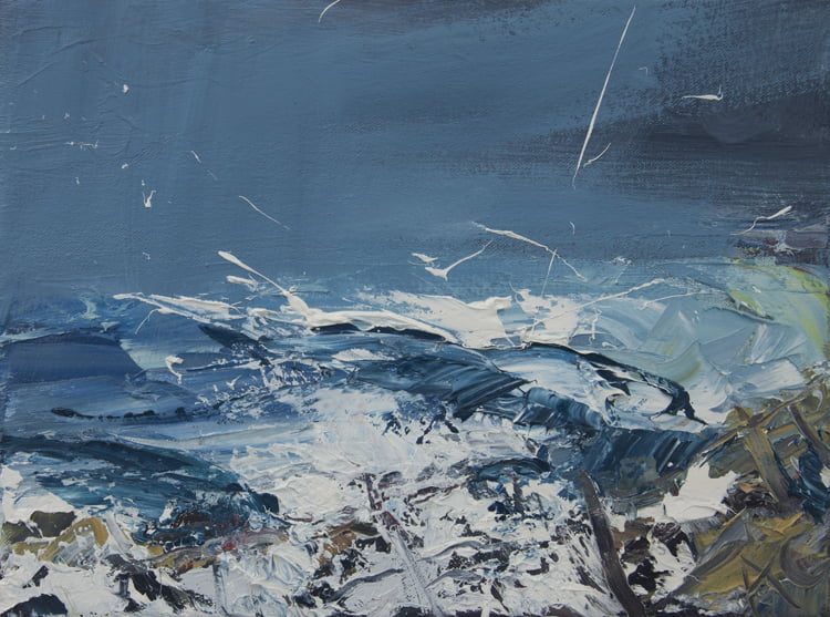 013 'Achnahaird' Oil On Canvas Alison Critchlow