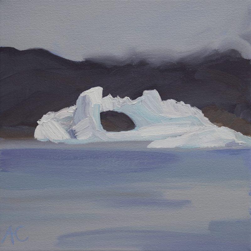 016 'Iceberg With Hole' 43 X 43 Cm 2011
