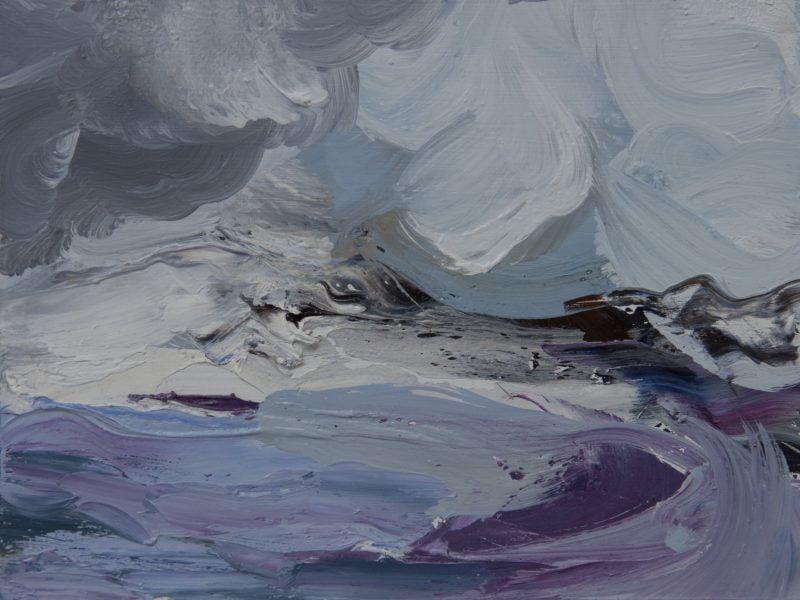 016 'Morar' Oil On Board Alison Critchlow