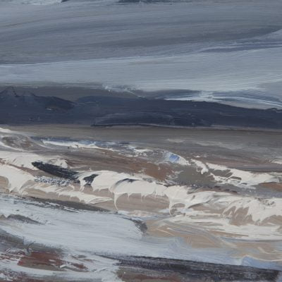 'Turning Tide' Oil On Board Alison Critchlow