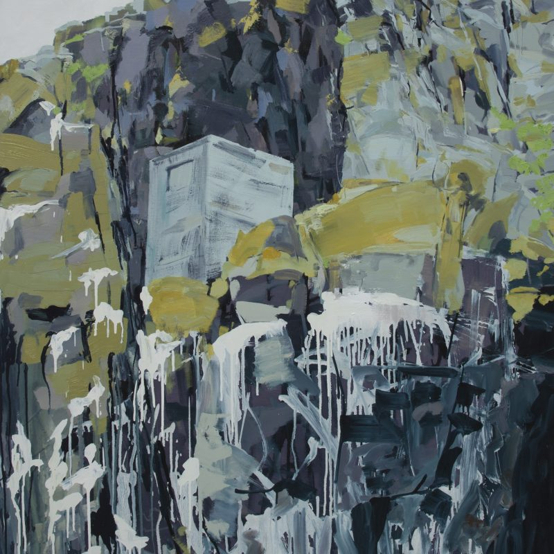 005 'Hide' Oil And Acrylic On Canvas 150 X 100 X 4 Cm
