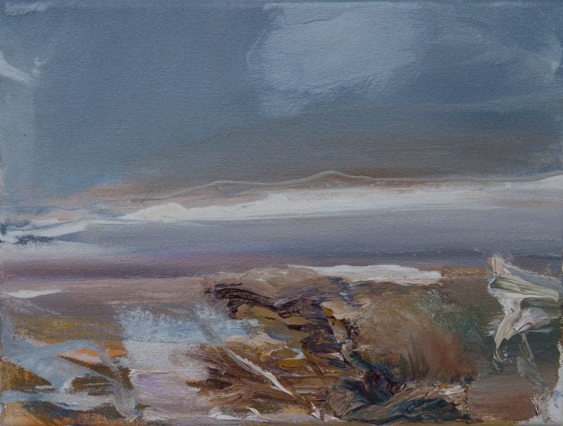 005'Solway Shore Study #1'  Oil On Canvas Alison Critchlow