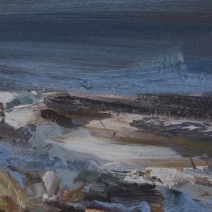 008 'High Tide' Oil On Board,Alison Critchlow