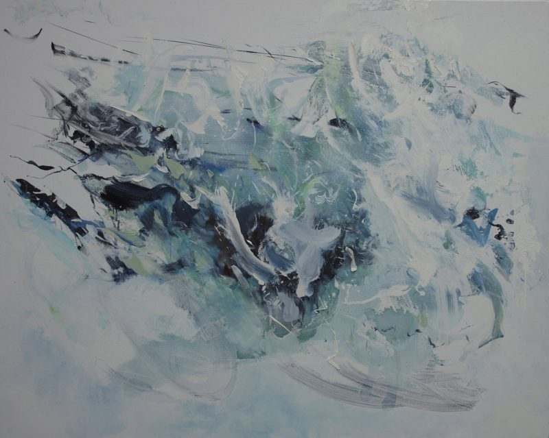 008 Submerge By Alison Critchlow 152 X 120 Cm   (1)