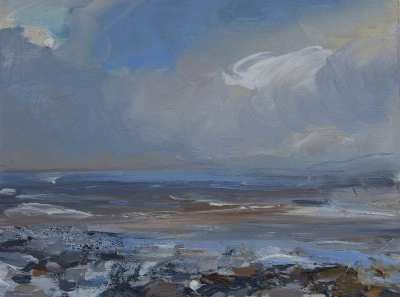 013Critchlow, Alison,'Solway Study, Evening Light' 2020