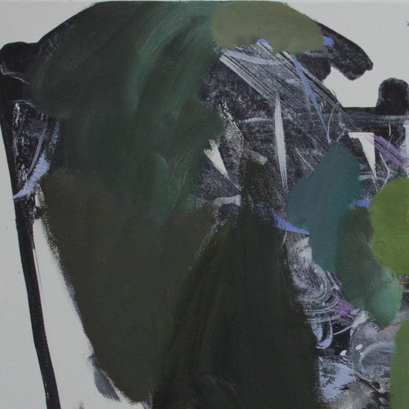 002 Garden Passage .oil And Acrylicon Canvas A Critchlow Copy