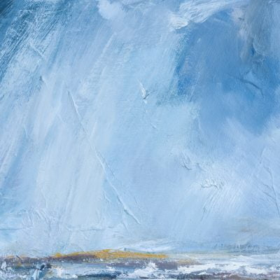 012 A Critchlow  'Rain' Oil On Canvas On Board 2020