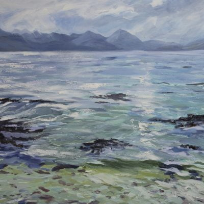 014 'Calm Sea' Oil On Canvas Approx 120 X120 Cm 2011