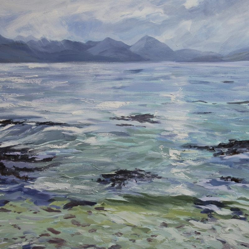 014 'Calm Sea' Oil On Canvas Approx 120 X120 Cm 2011
