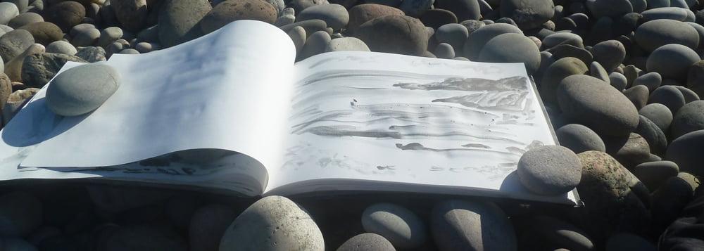 Drawing, St Columba's Bay