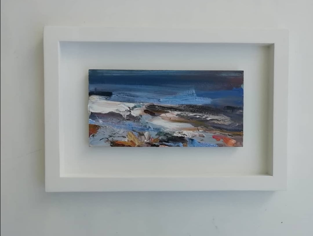 High Tide Framed 34 X23 Cm