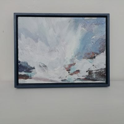 'North Beach, Crashing Waves'