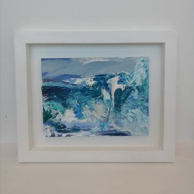 'Storm TIree' Framed