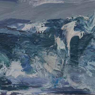 'Storm,Tiree', Oil On Board Alison Critchlow (1)