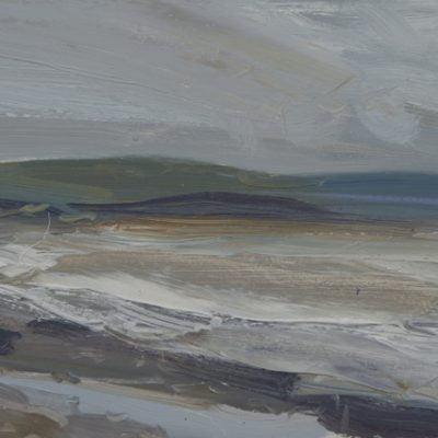 'Summer Rain, Allonby' Oil On Board Alison Critchlow