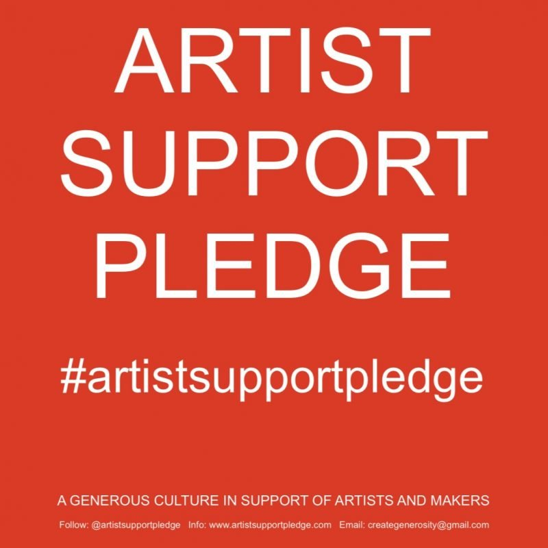 Artists Support Pledge A
