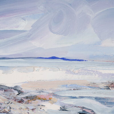 'Snow Clouds Over The Solway Firth' Copy (1)